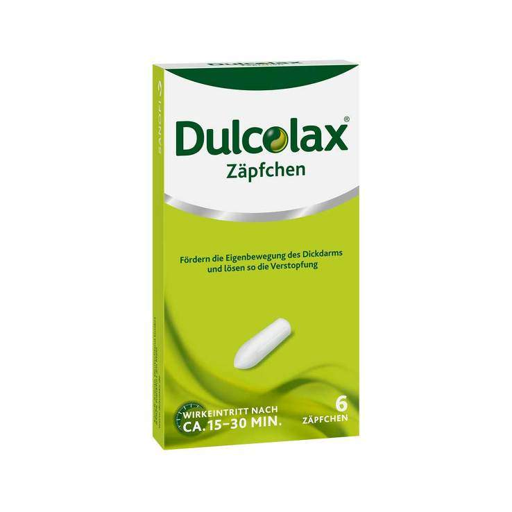Dulcolax®, 10 mg Zäpfchen 6 Supp.