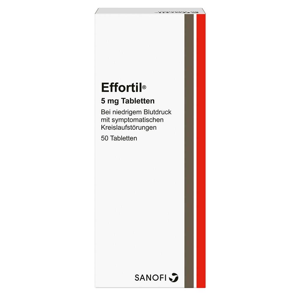 Effortil® 5 mg 50 Tabletten