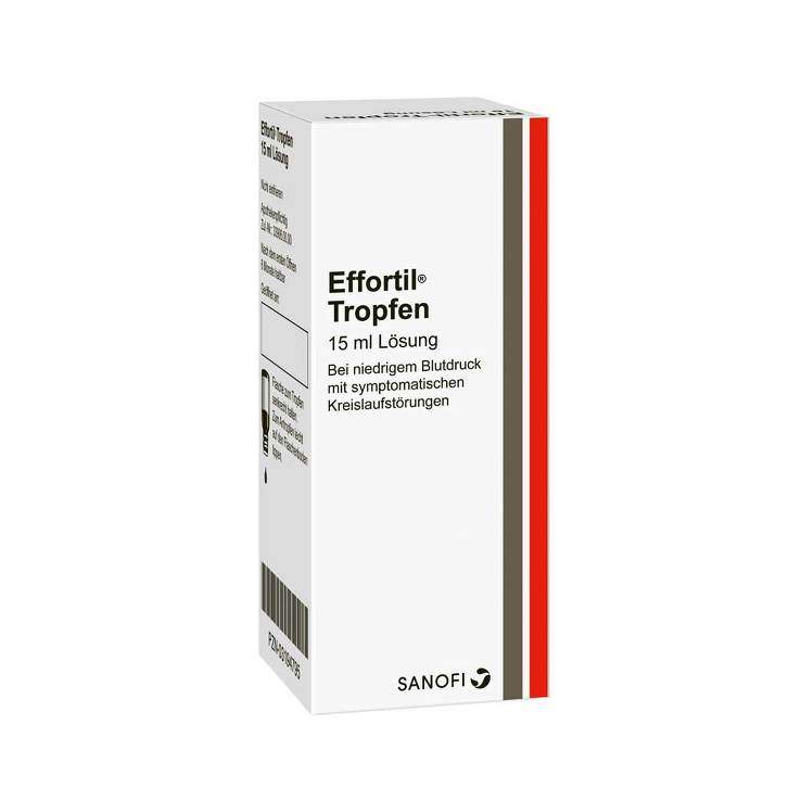 Effortil® Tropfen 7,5 mg/ml Tropfen zum Einnehmen, Lösung 15 ml