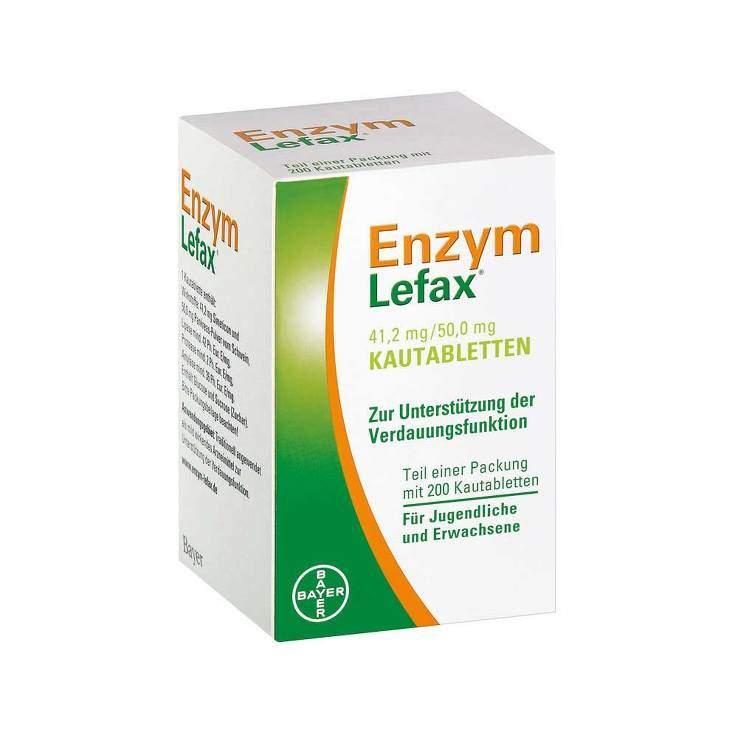 Enzym Lefax® 200 Kautbl.