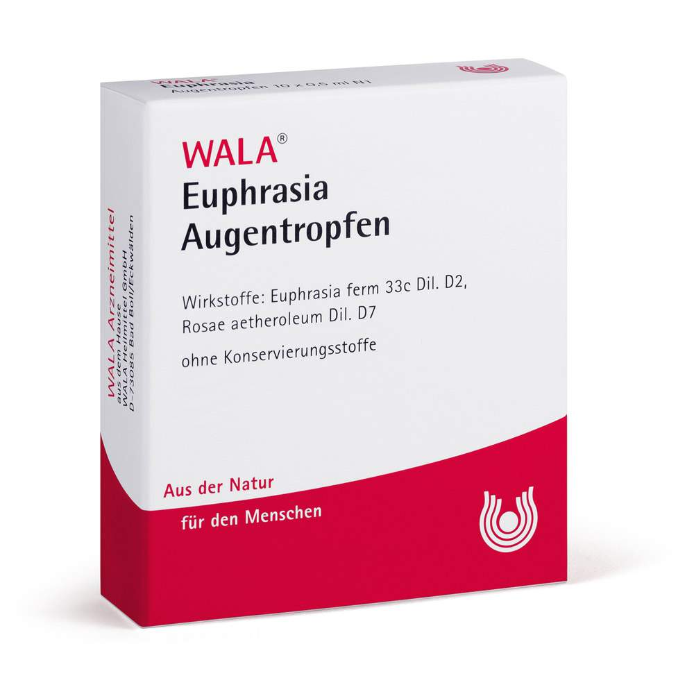 Euphrasia Augentropfen Wala 10x0,5ml