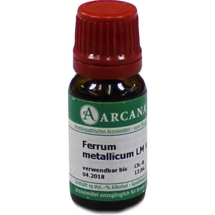 Ferrum metallicum Arcana LM 6 Dilution 10ml
