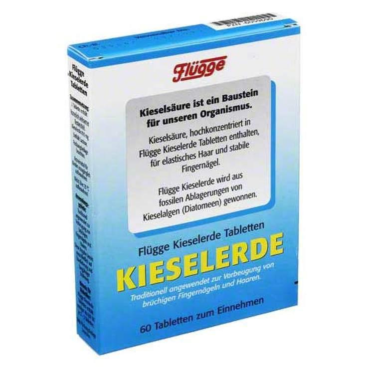 Flügge Kieselerde Tabletten 60 St.