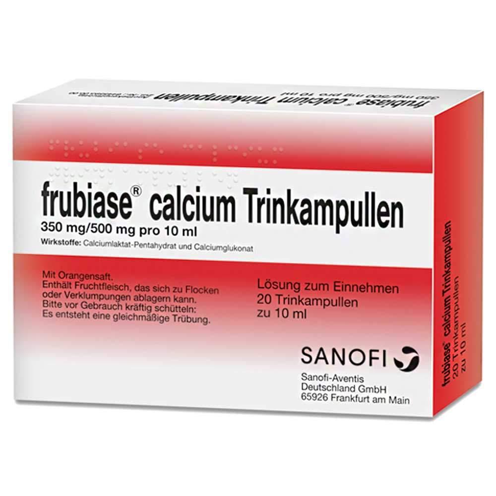frubiase® calcium 20 Trinkampullen