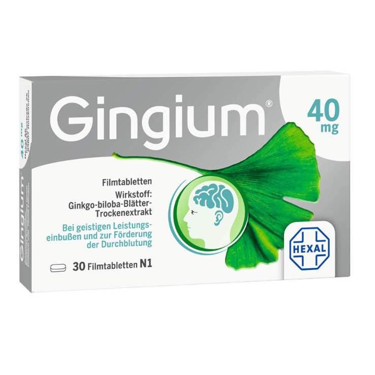 Gingium® 40mg 30 Filmtbl.