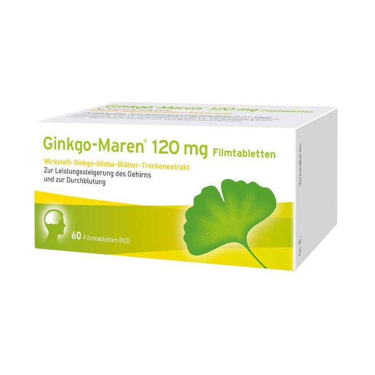 Ginkgo-Maren® 120 mg 60 Filmtabletten