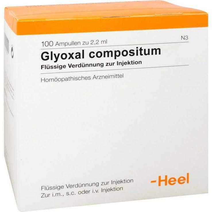 Glyoxal compositum 100 Amp. Inj.-Lsg.