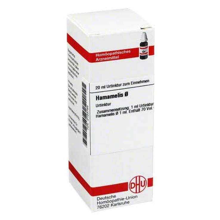 Hamamelis Urtinktur DHU Dil. 20 ml