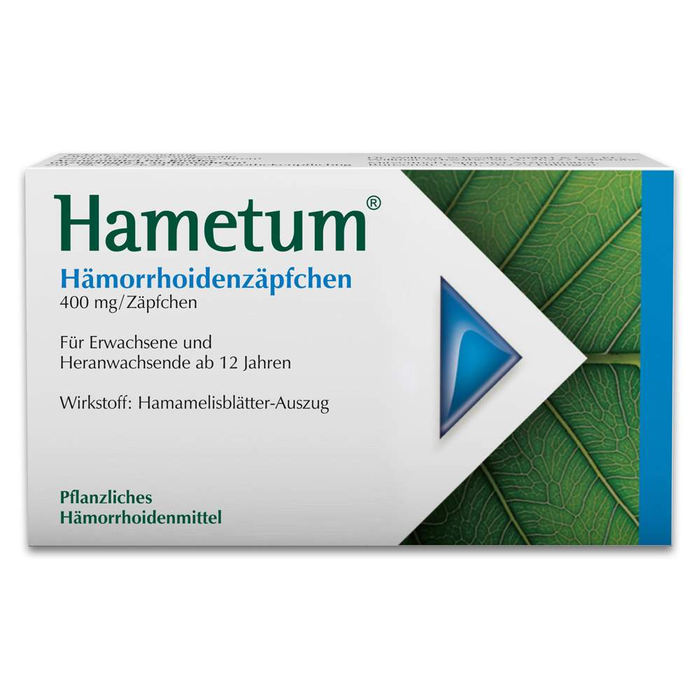 Hametum® Hämorrhoidenzäpfchen 25 Zäpf.