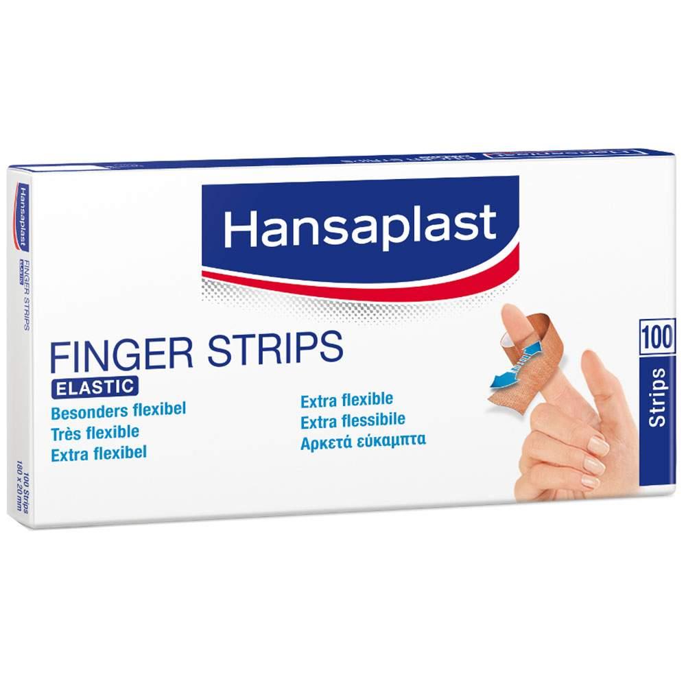 HANSAPLAST ELASTIC 100 Fingerstrips 2 cm x 18 cm
