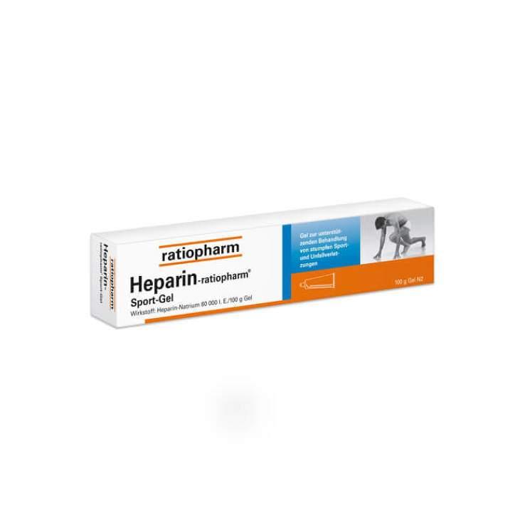 Heparin-ratiopharm® Sport-Gel 50g