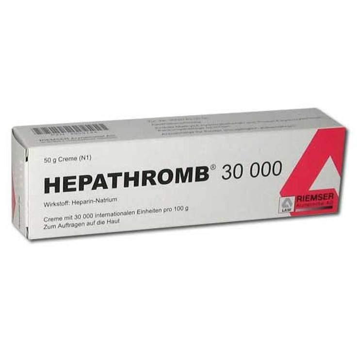 Hepathromb® 30000 Creme 50 g