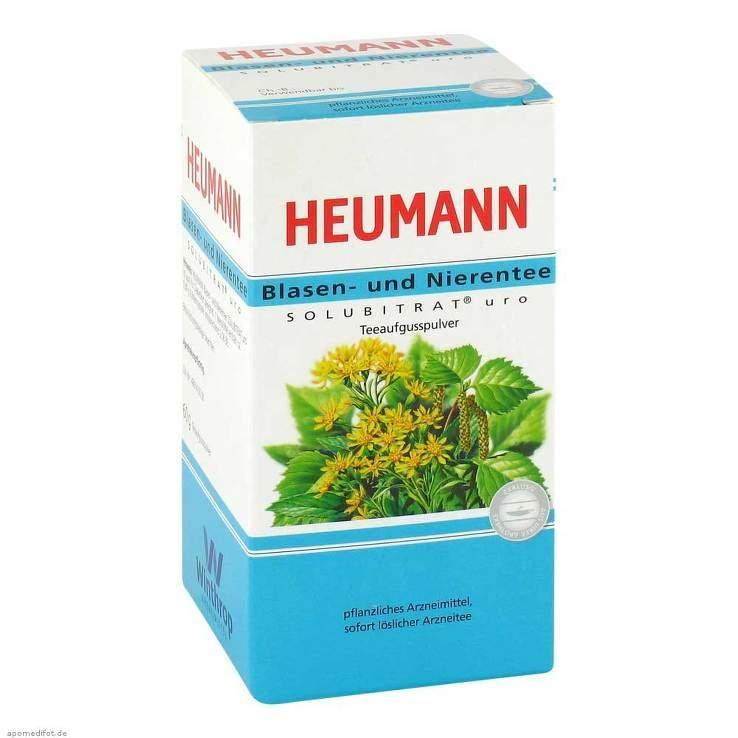 HEUMANN Blasen- und Nierentee SOLUBITRAT® uro 60g