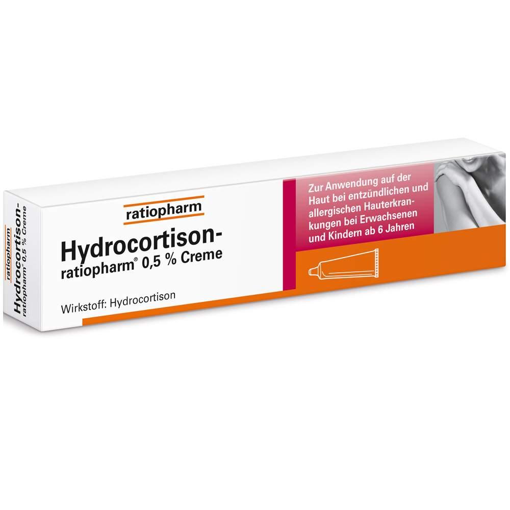Hydrocortison-ratiopharm® 0,5% Creme 30g
