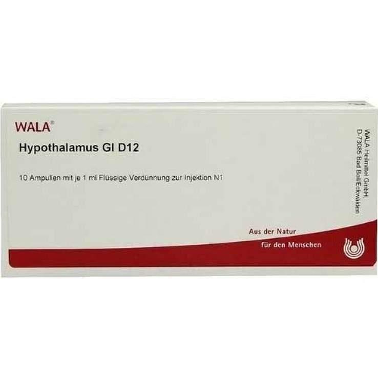 Hypothalamus Gl D12 Wala 10 x1ml Amp.