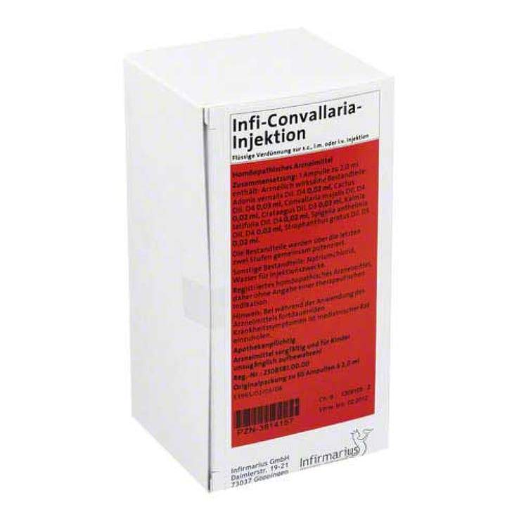 Infi Convallaria Injektion 50x2ml