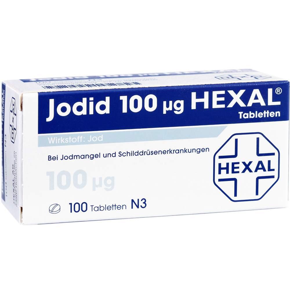 Jodid 100µg HEXAL® 100 Tbl.