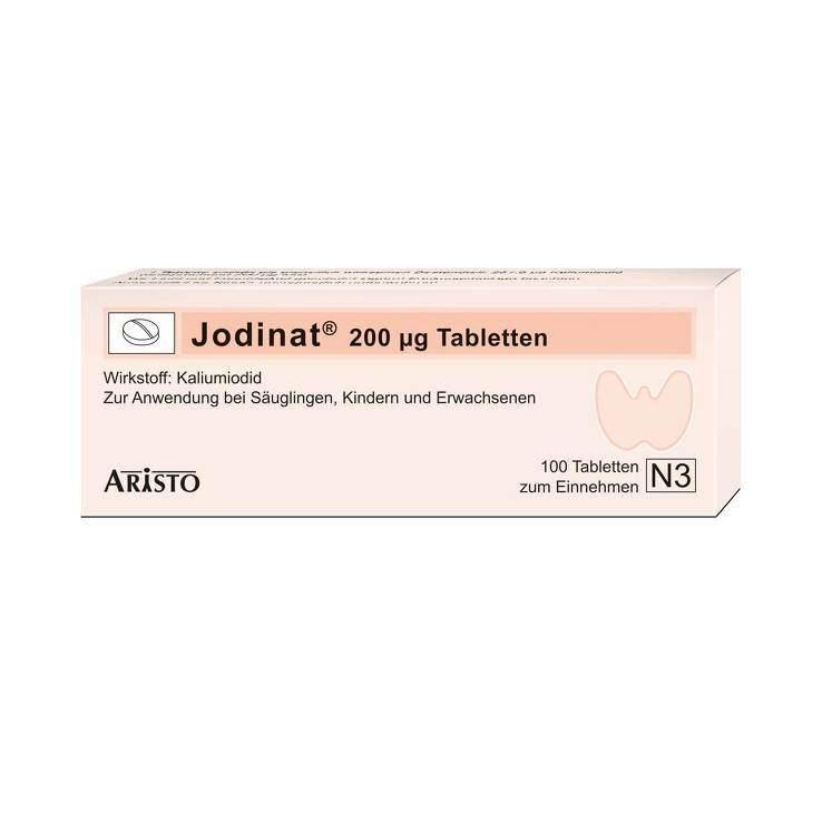 Jodinat® 200 µg 100 Tbl.