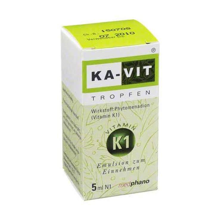KA-VIT® Tropfen, 20mg/ml Emulsion zum Einnehmen 5ml