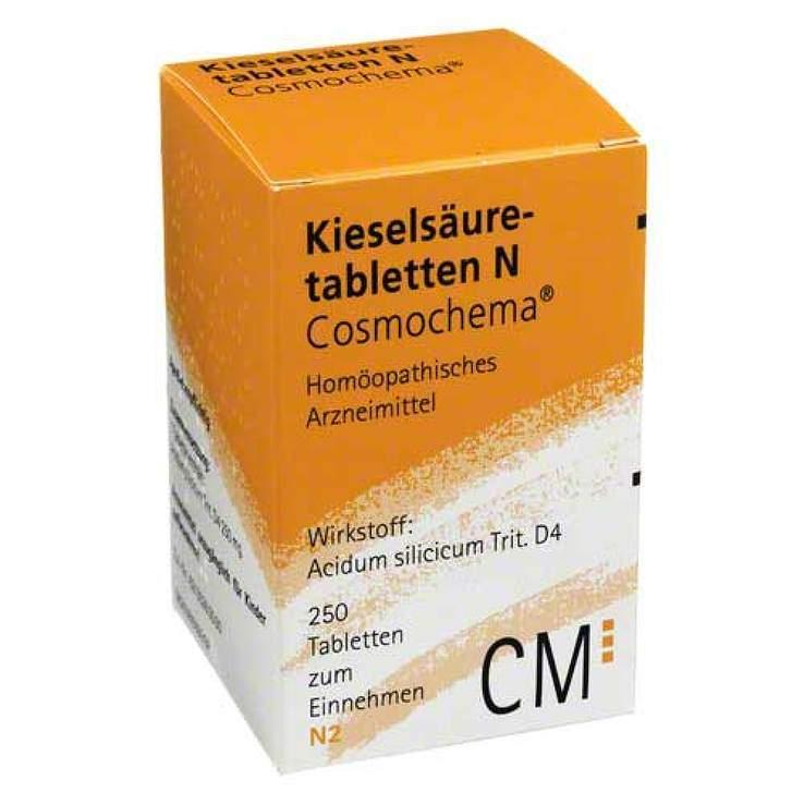 Kieselsäuretabl. N Cosmochema 250 Tbl.