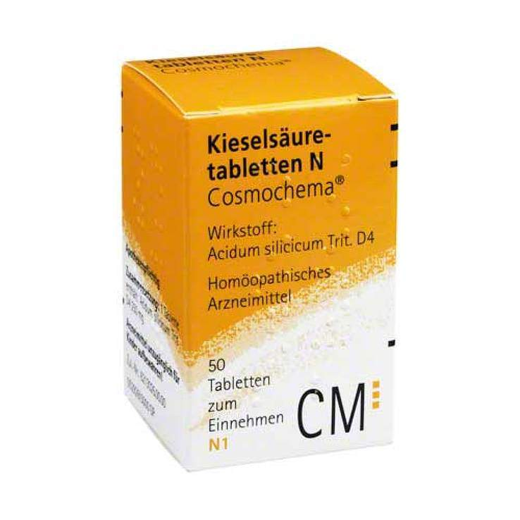 Kieselsäuretabl. N Cosmochema 50 Tbl.