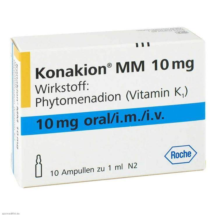 Konakion® MM 10mg 10 Amp. Lsg.