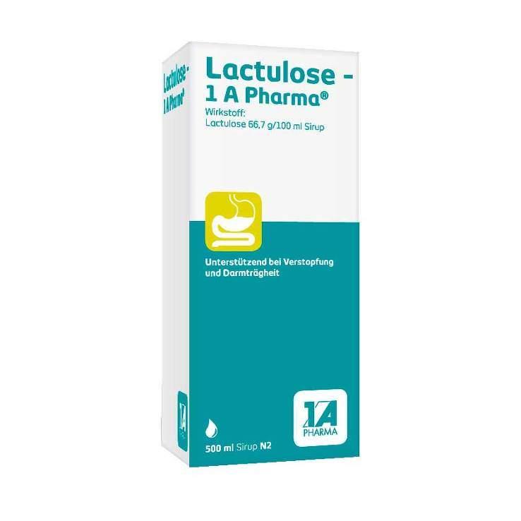 Lactulose - 1 A Pharma®, 66,7 g/100 ml Sirup 500ml