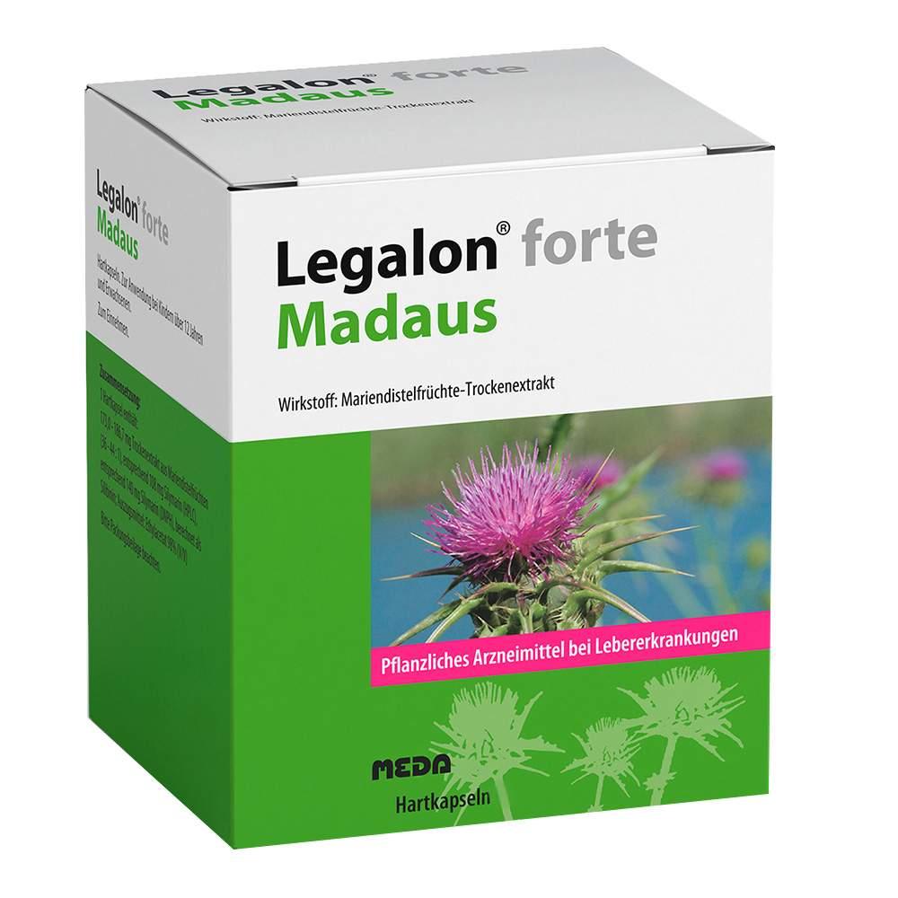 Legalon® forte Madaus 100 Hartkaps.