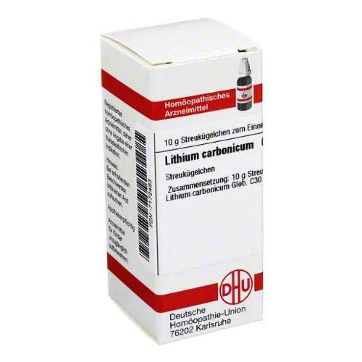Lithium carbonicum C30 DHU 10g Glob.