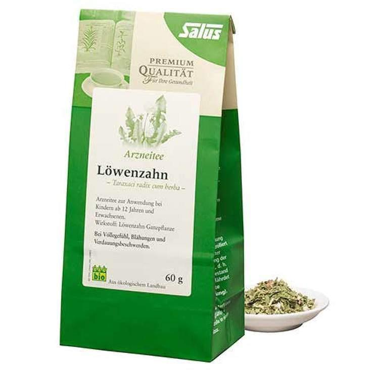 Löwenzahn Arzneit.Taraxaci radix cum herb.bio Sal. 60 g