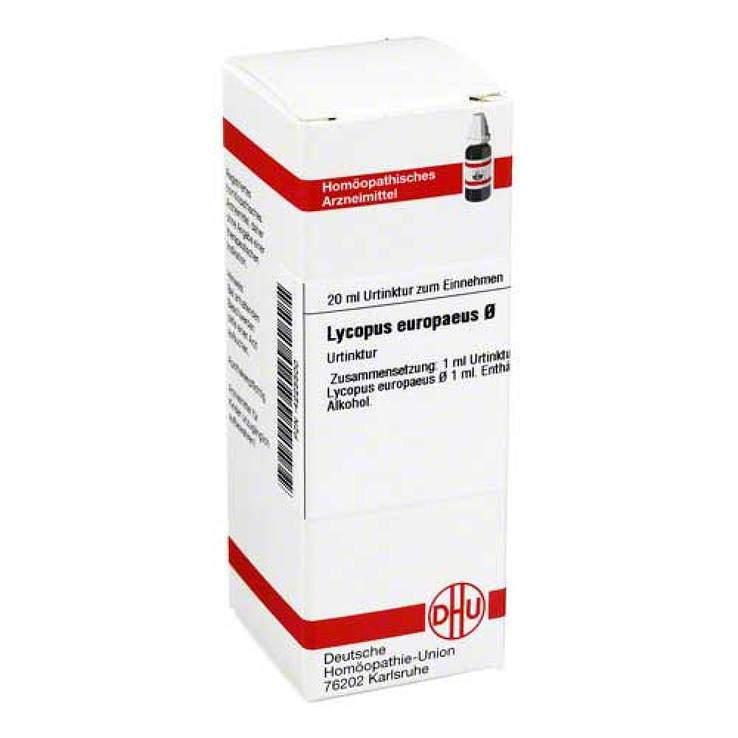 Lycopus europaeus Urtinktur DHU 20 ml