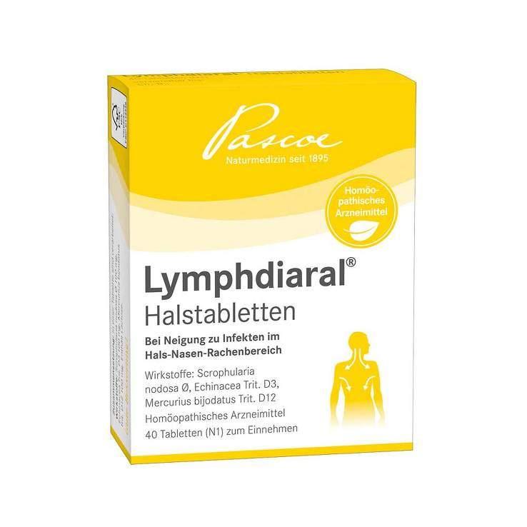 Lymphdiaral® Halstabletten 40 Tbl.