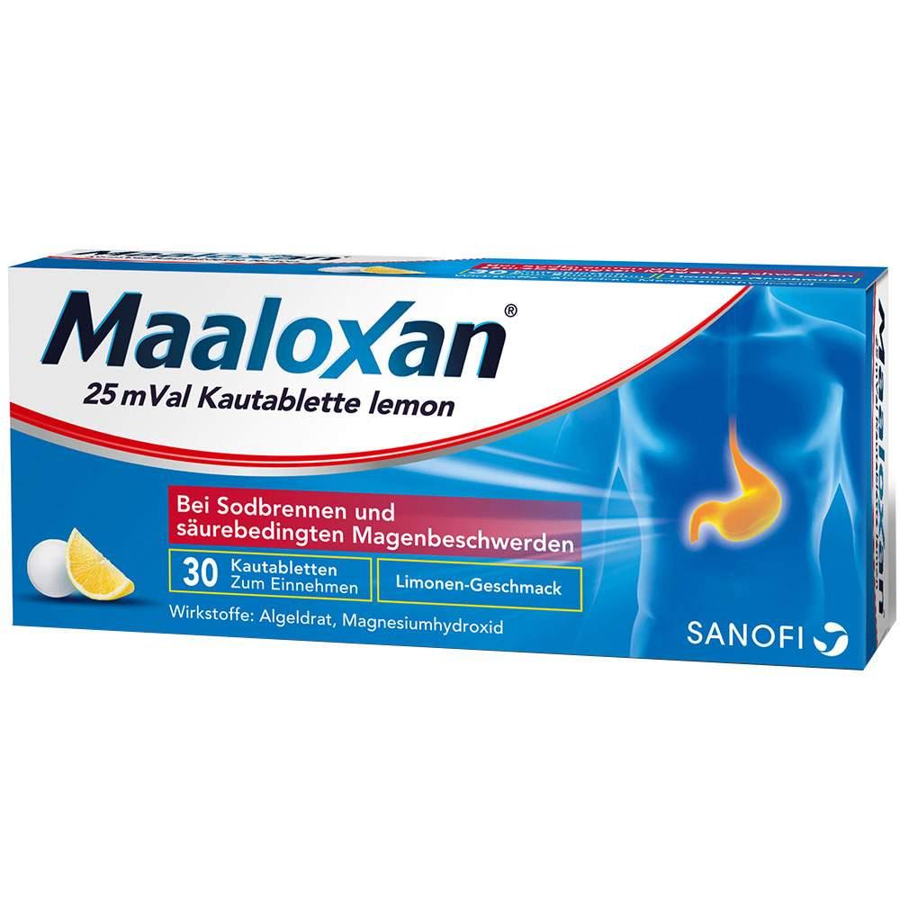 Maaloxan® 25mVal Lemon 30 Kautbl.
