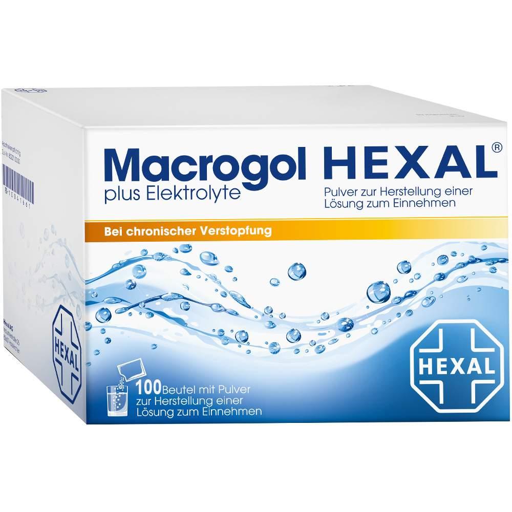 Macrogol HEXAL® plus Elektrolyte 100 Btl.