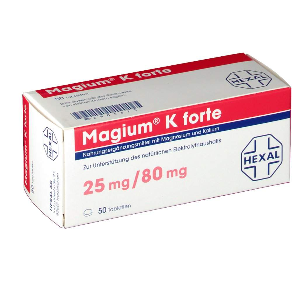 Magium® K forte 50 Tbl.