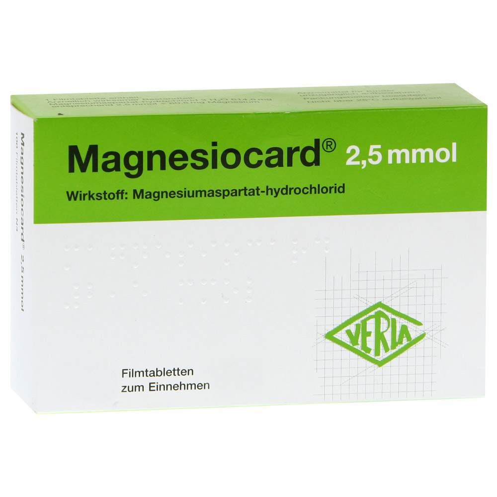 Magnesiocard® 2,5mmol 200 Filmtbl.