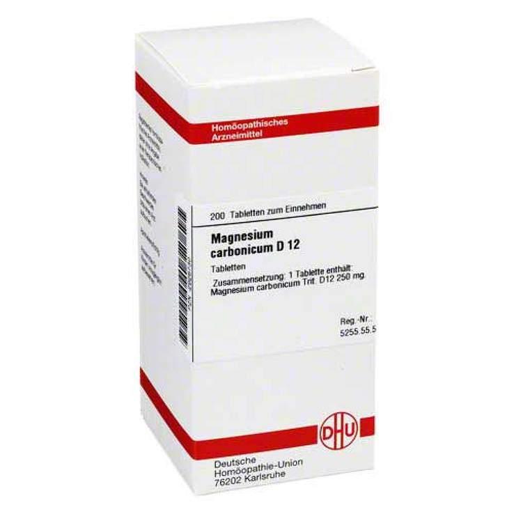 Magnesium carbonicum D12 DHU 200 Tbl.