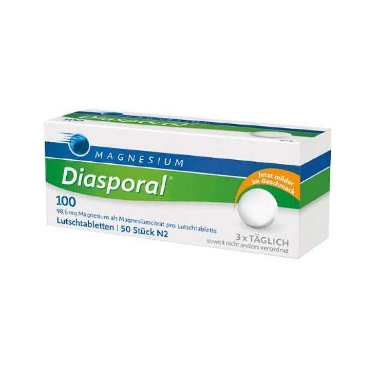 Magnesium-Diasporal® 100 50 Lutschtbl.