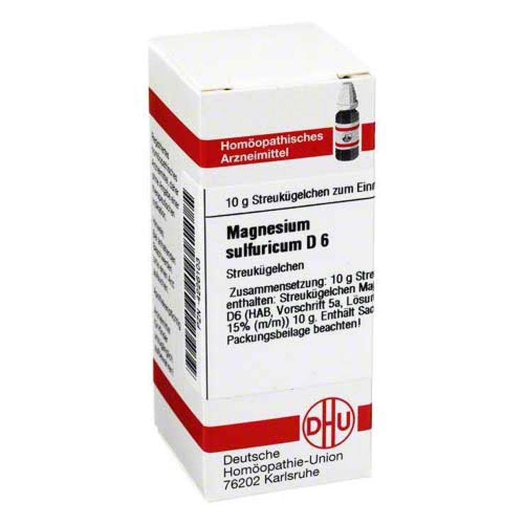 Magnesium sulfuricum D6 DHU 10g Glob.