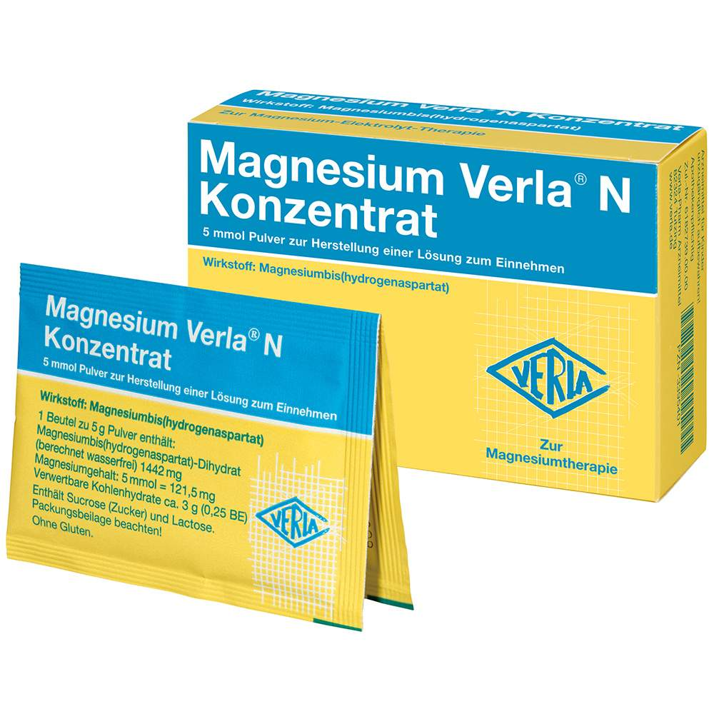 Magnesium Verla® N Konz. 50 Btl.
