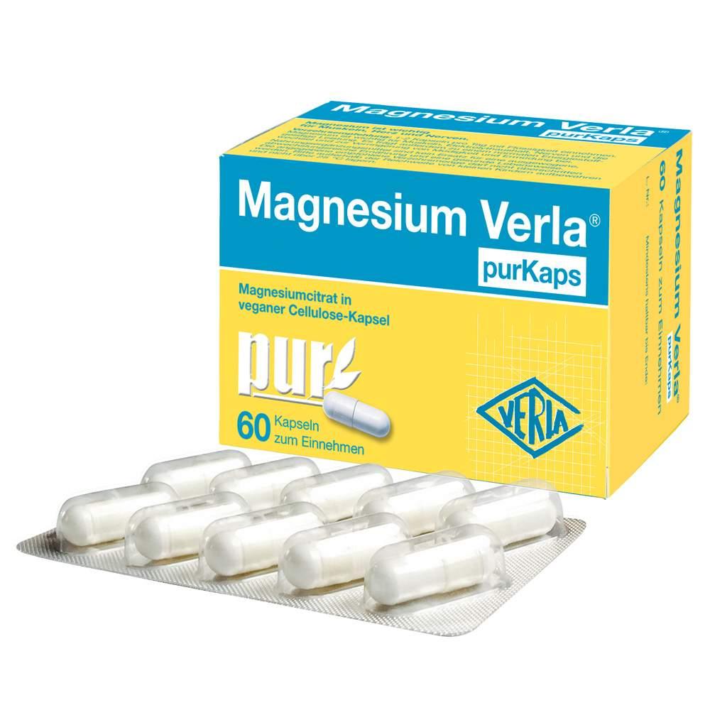 Magnesium Verla® purKaps, 60 Kapseln