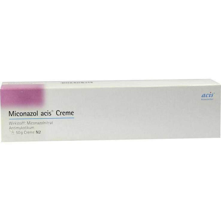 Miconazol acis® Creme, 20 mg/g 50g