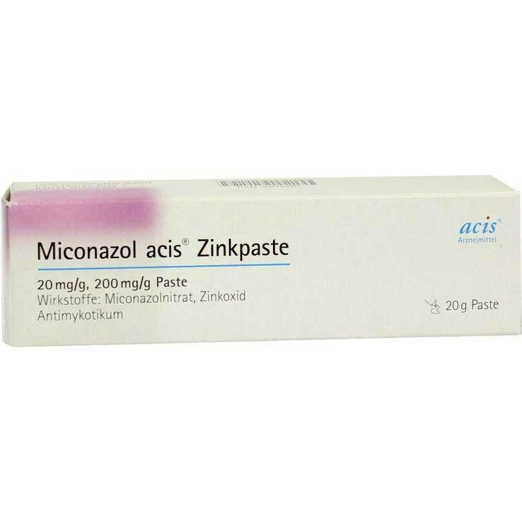 Miconazol acis® Zinkpaste 20mg/g 20g