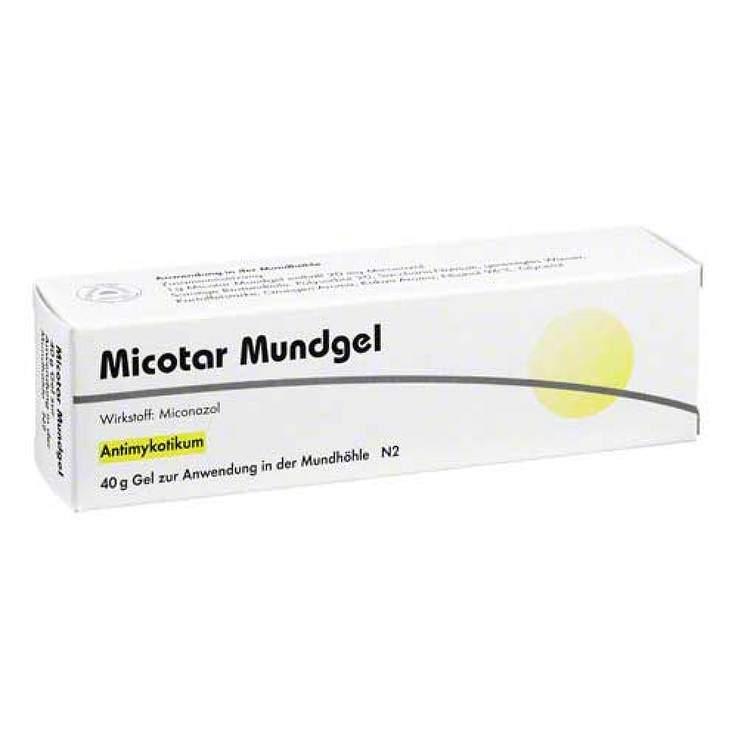 Micotar® 40 g Mundgel