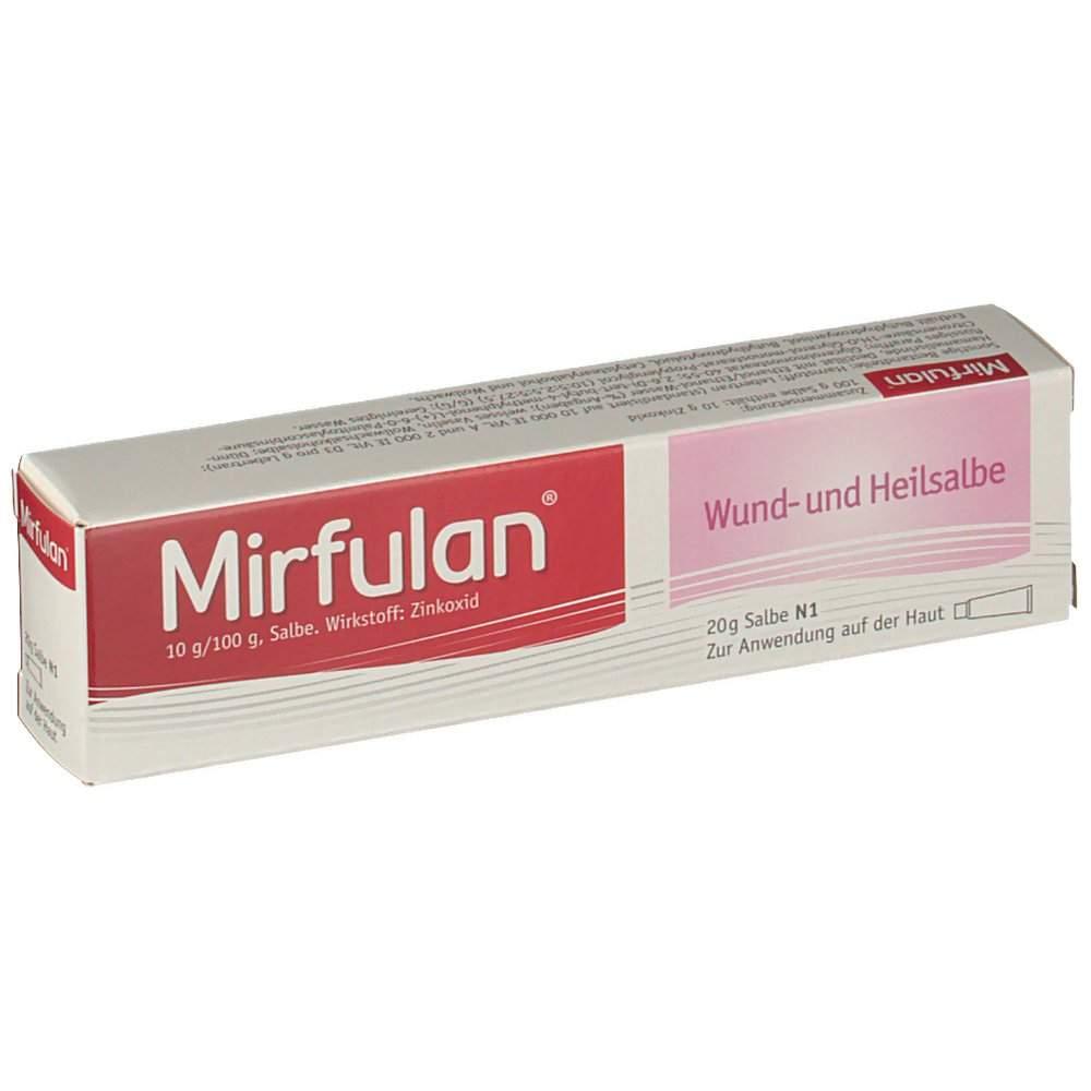 Mirfulan®, 10 g/100 g, Salbe 20 g