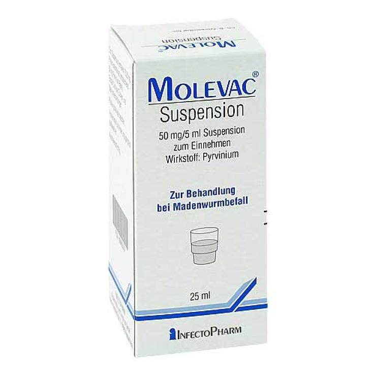 Molevac® Suspension 50mg/5ml 25 ml