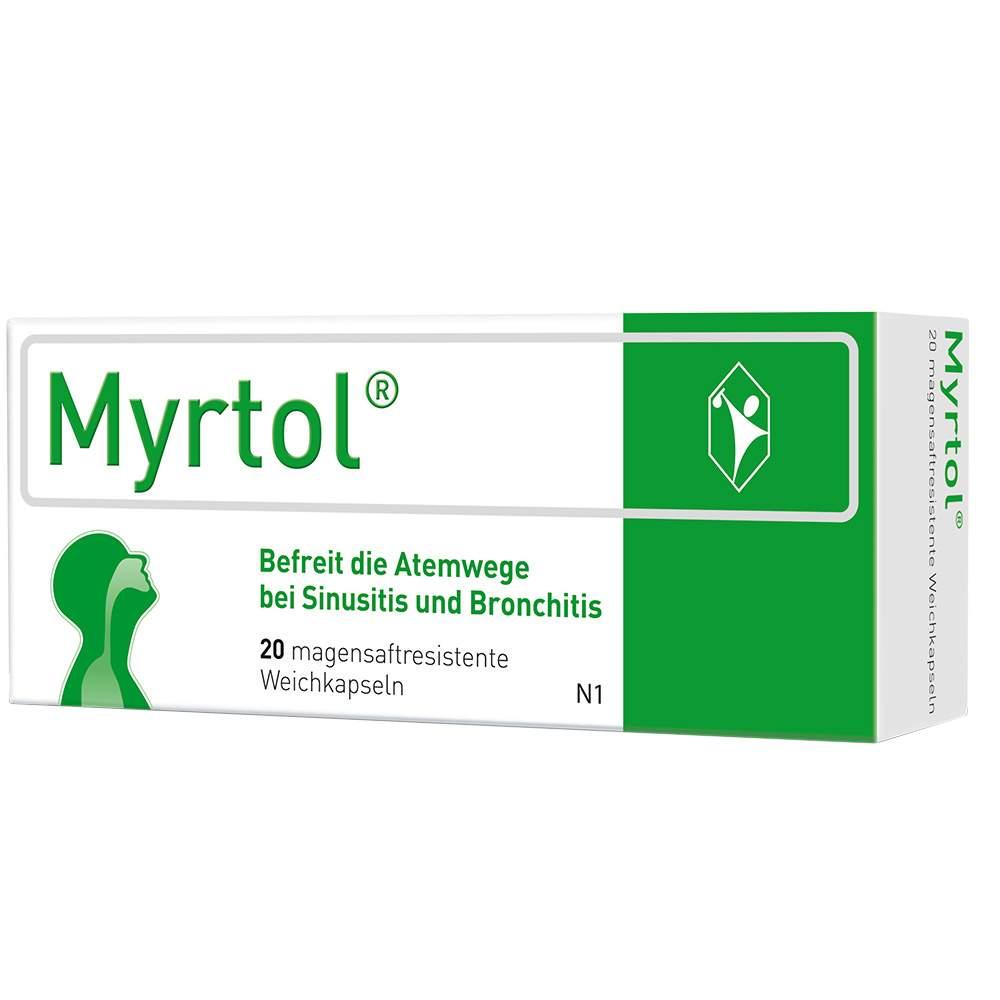 Myrtol® 120 mg 20 magensaftresistente Weichkapseln