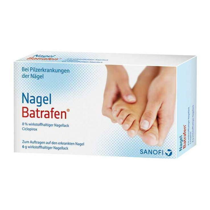 Nagel Batrafen®, 8% wirkst-halt. Nagellack 6g