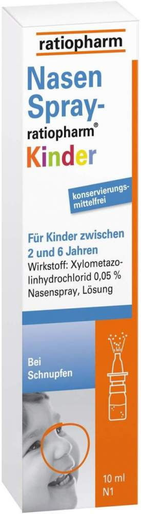 NasenSpray-ratiopharm® Kinder 10ml