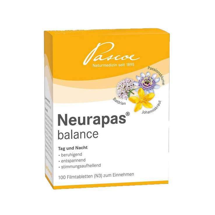 Neurapas® balance 5x100 Tbl.